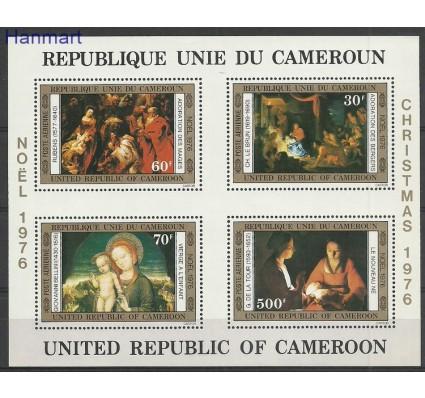 Znaczek Kamerun 1976 Mi bl11 Czyste **