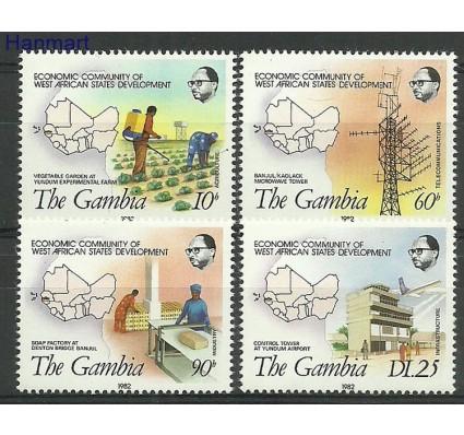 Znaczek Gambia 1982 Mi 449-452 Czyste **