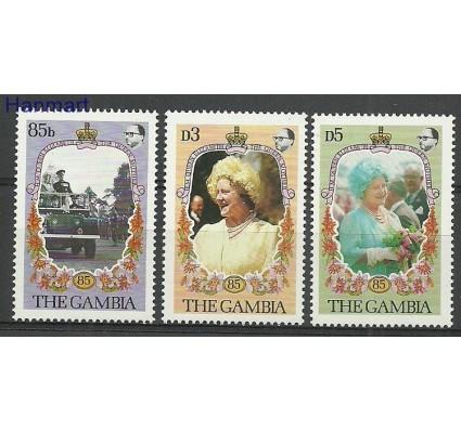 Znaczek Gambia 1985 Mi 562-564 Czyste **
