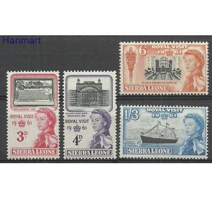 Znaczek Sierra Leone 1961 Mi 202-205 Czyste **