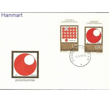 Jugosławia 1971 Mi 1418-1419 FDC