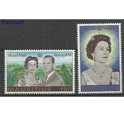 Znaczek Mauritius 1972 Mi 383-384 Czyste **