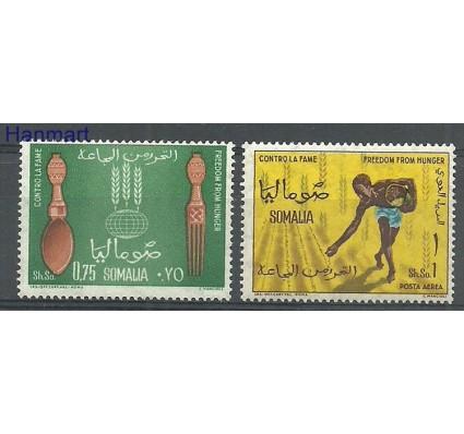 Znaczek Somalia 1963 Mi 49-50 Czyste **