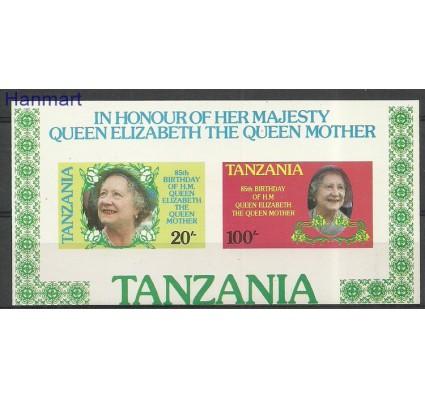 Znaczek Tanzania 1985 Mi bl42B Czyste **