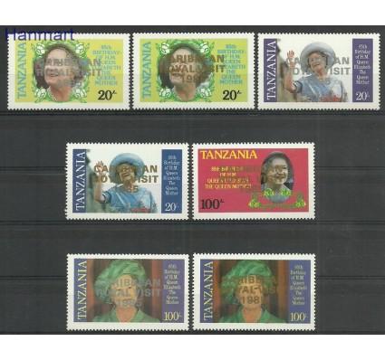 Tanzania 1986 Mi 297-300+306-308 Czyste **