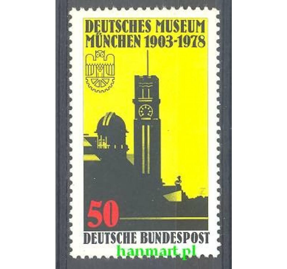 Niemcy 1978 Mi 963 Czyste **