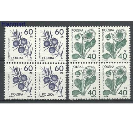 Znaczek Polska 1989 Mi 3214-3215 Fi 3066-3067 Czyste **