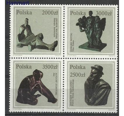 Znaczek Polska 1992 Mi 3401-3404 Fi 3253-3256 Czyste **