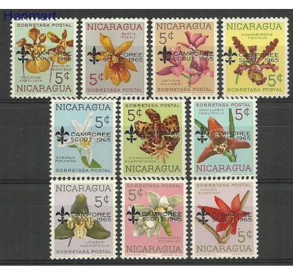 Nikaragua 1965 Mi 1397-1406 Z podlepką *