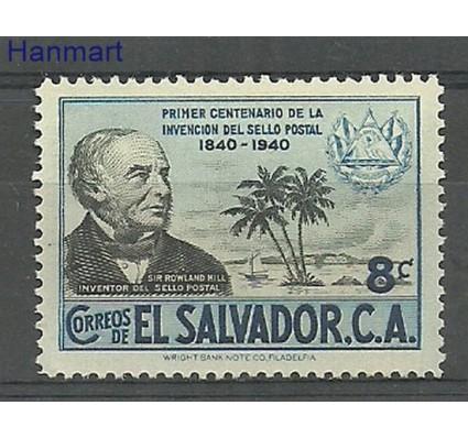 Salwador 1940 Mi 575 Z podlepką *