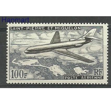 Znaczek Saint-Pierre i Miquelon 1957 Mi 387 Z podlepką *