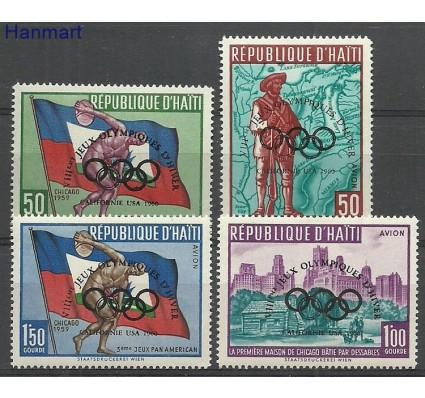 Znaczek Haiti 1960 Mi 595-598 Z podlepką *
