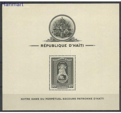Znaczek Haiti 1942 Mi bl3 Z podlepką *