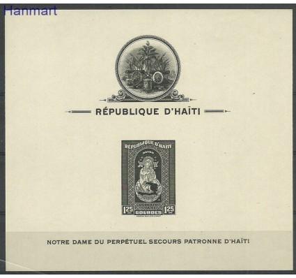 Znaczek Haiti 1942 Mi bl3B Z podlepką *