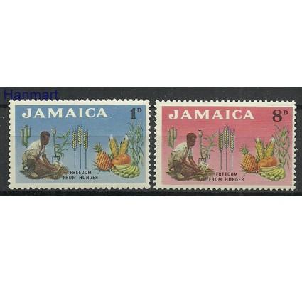 Znaczek Jamajka 1963 Mi 203-204 Z podlepką *