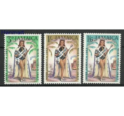 Znaczek Jamajka 1964 Mi 207-209 Z podlepką *