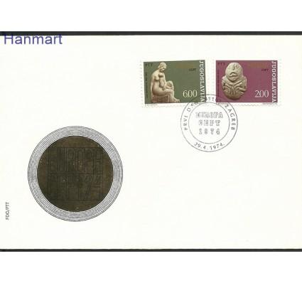 Jugosławia 1974 Mi 1557-1558 FDC