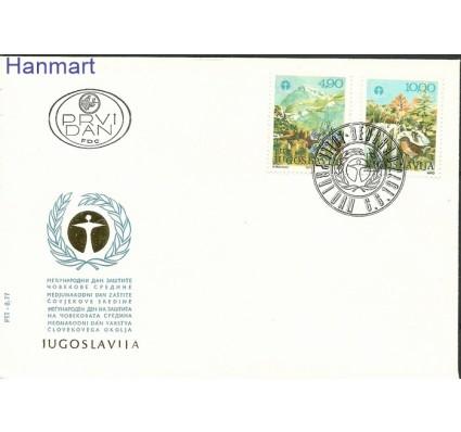 Znaczek Jugosławia 1977 Mi 1689-1690 FDC