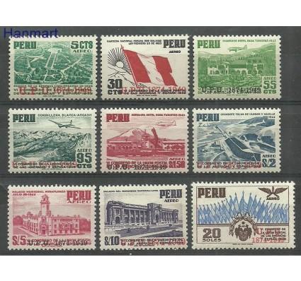 Znaczek Peru 1951 Mi 483-491 Z podlepką *