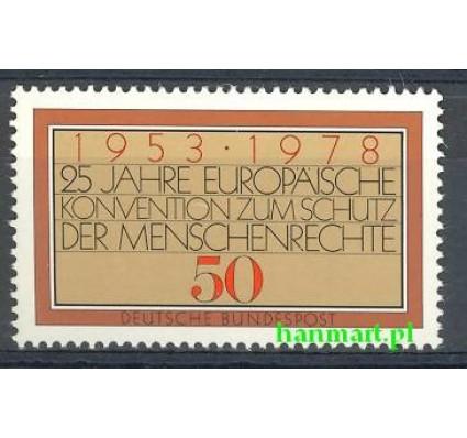 Niemcy 1978 Mi 979 Czyste **