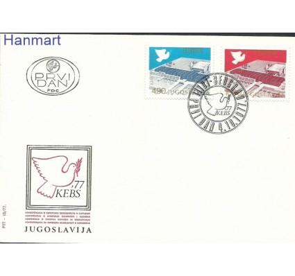 Znaczek Jugosławia 1977 Mi 1699-1700 FDC