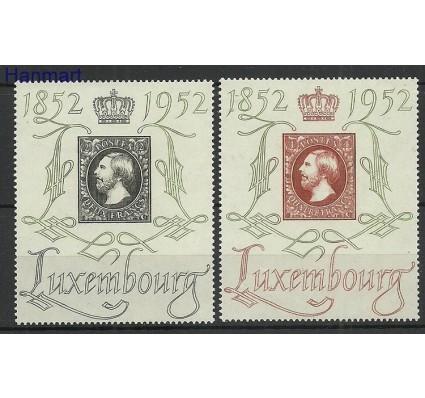 Luksemburg 1952 Mi 488-489 Czyste **