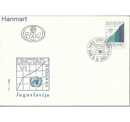 Jugosławia 1983 Mi 1993 FDC