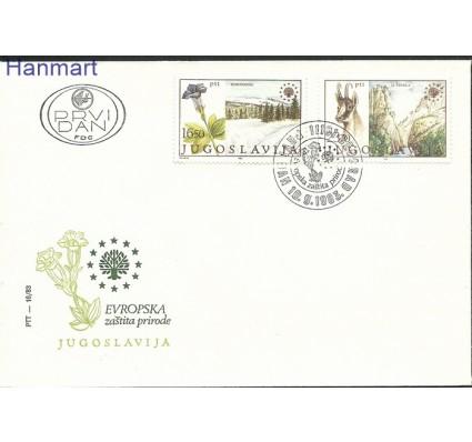 Znaczek Jugosławia 1983 Mi 2000-2001 FDC