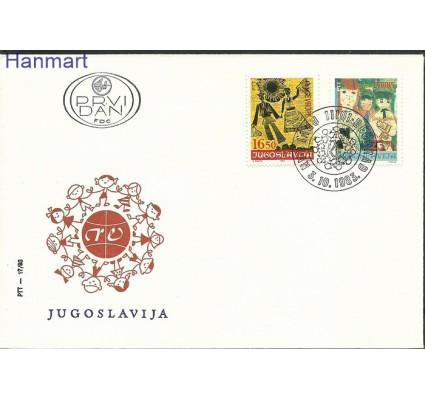 Znaczek Jugosławia 1983 Mi 2002-2003 FDC