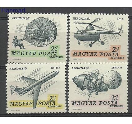 Znaczek Węgry 1967 Mi 2351-2354IA Czyste **