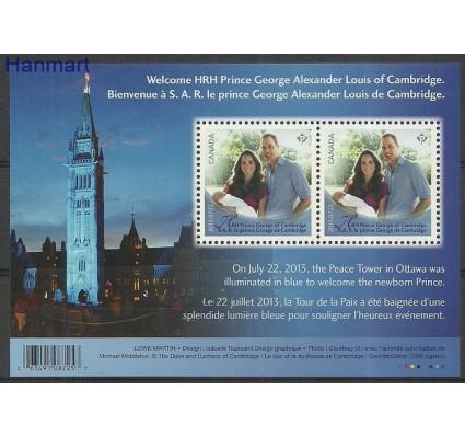 Znaczek Kanada 2013 Mi bl 180 Czyste **
