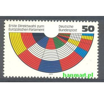 Niemcy 1979 Mi 1002 Czyste **