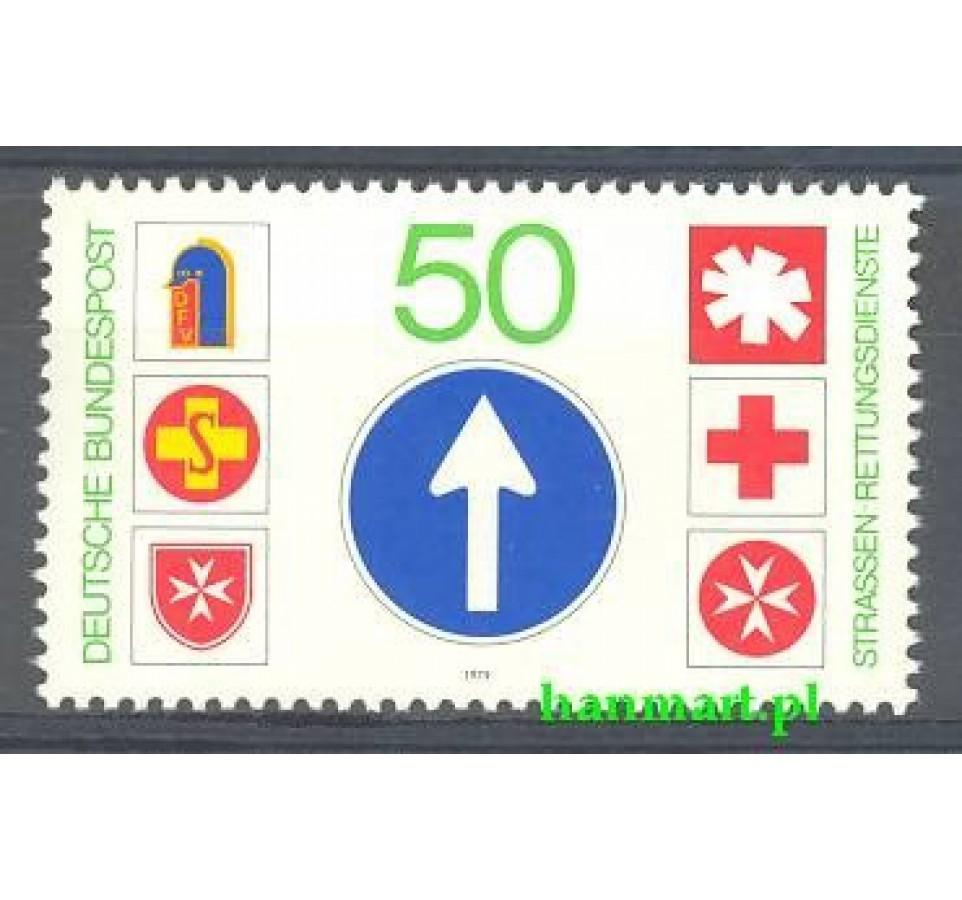 Niemcy 1979 Mi 1004 Czyste **