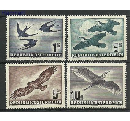 Znaczek Austria 1953 Mi 984-987 Z podlepką *