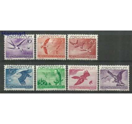 Znaczek Liechtenstein 1939 Mi 173-179 Z podlepką *