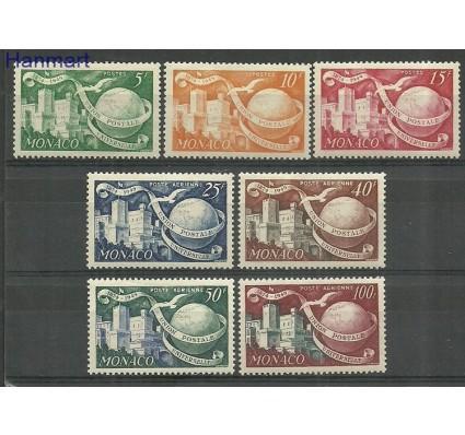 Znaczek Monako 1949 Mi 401-407 Z podlepką *