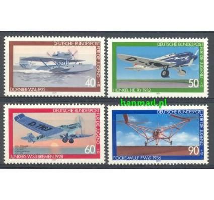 Niemcy 1979 Mi 1005-1008 Czyste **