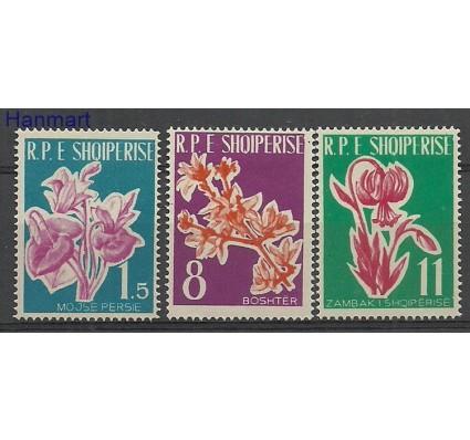 Znaczek Albania 1961 Mi 633-635 Z podlepką *