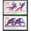 Niemcy 1979 Mi 1009-1010 Czyste **