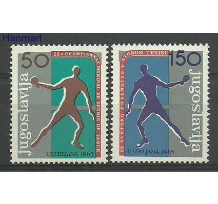 Znaczek Jugosławia 1965 Mi 1104-1105 Z podlepką *