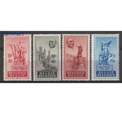 Znaczek Belgia 1948 Mi 824-827 Z podlepką *