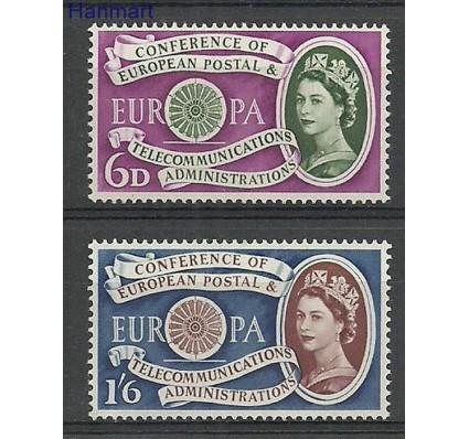Znaczek Wielka Brytania 1960 Mi 341-342 Z podlepką *