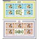 Dominika 1973 Mi 379-380 Czyste **