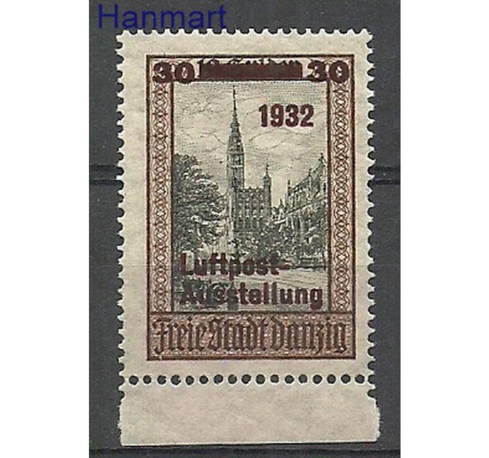 Wolne Miasto Gdańsk 1932 Mi 235 Czyste **