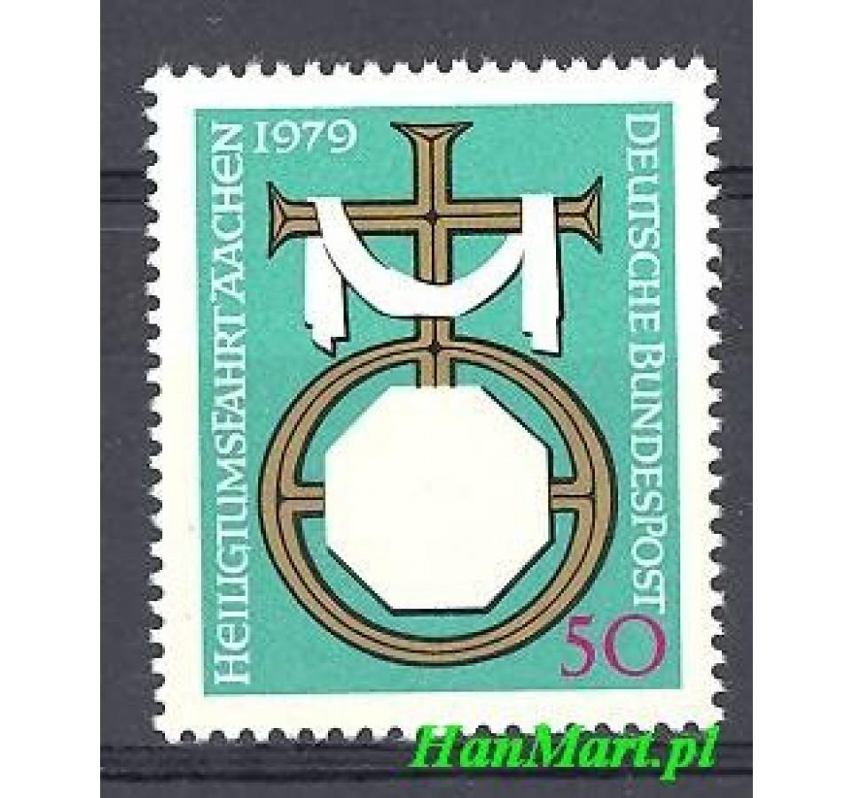 Niemcy 1979 Mi 1017 Czyste **