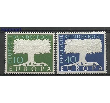 Znaczek Niemcy 1957 Mi 268-269 Z podlepką *