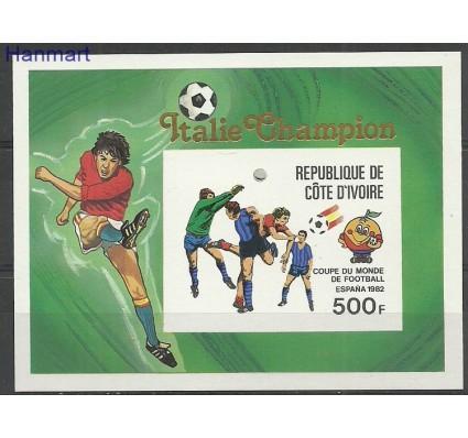 Znaczek Wybrzeże Kości Słoniowej 1981 Mi bl19B Czyste **