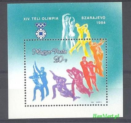 Węgry 1984 Mi bl 169 Czyste **