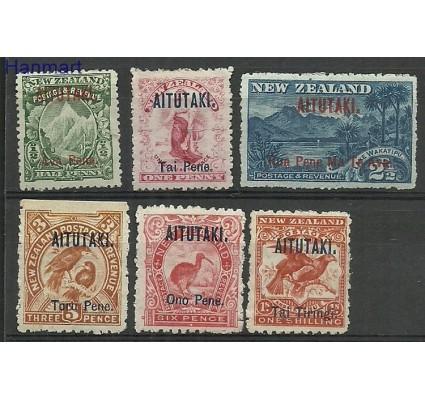 Znaczek Aitutaki 1903 Mi 1-6 Z podlepką *