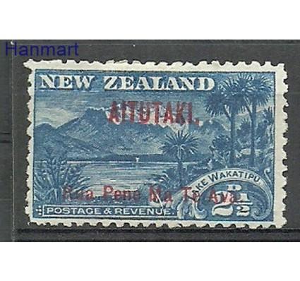 Znaczek Aitutaki 1903 Mi 3CI Z podlepką *